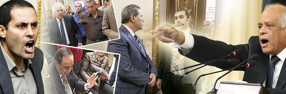 فى سنة أولى برلمان.. 8 مطرودين بأمر عبد العال