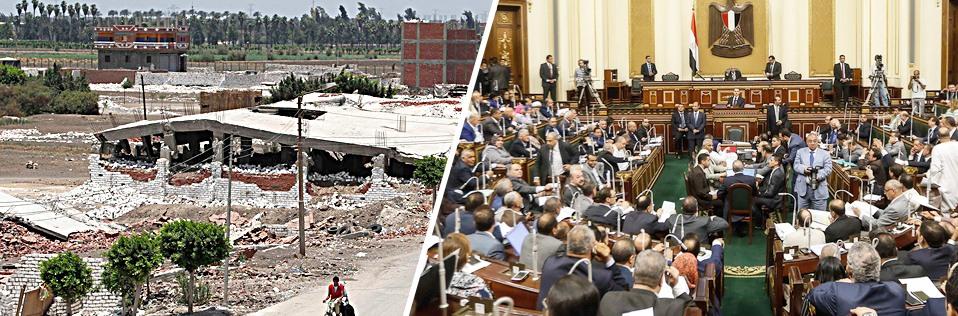جدل بالبرلمان بسبب التصالح فى مخالفات البناء