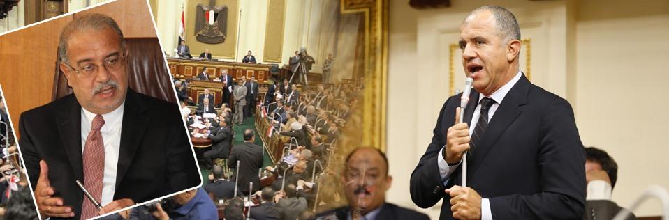 """رسائل رئيس """"أغلبية البرلمان"""" للحكومة"""