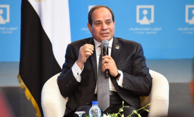 الرئيس يعلن: إنشاء أجهزة رقابية بكل مؤسسات الدولة.. ونتمنى ضخ دماء شبابية بالمحليات