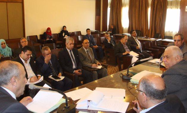 اجتماع لجنة الاقتراحات والشكاوى
