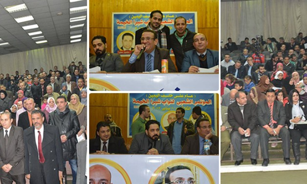 بالصور.. نواب شبرا الخيمة غرب يعقدون مؤتمر شعبى لكشف حسابهم أمام المواطنين