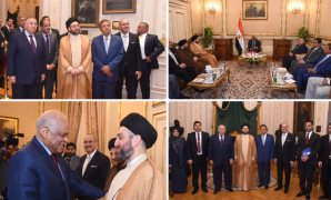 الدكتور على عبد العال و رئيس التحالف الوطنى بالبرلمان العراقى