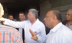 الدكتور جمال شيحة يتفقد مستشفى الكبد المصرى