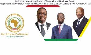 وفد الشئون الأفريقية يمثل مصر فى الدورة الرابعة للبرلمان الافريقى ورئيس بوركينا فاسو ضيف شرف