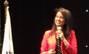 ماريان عازر بمؤتمر دور النساء فى دعم القوى الناعمة: المرأة المصرية فخر لبلدها
