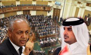قذائف برلمانية تدك دويلة قطر