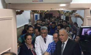 النائب محمد عبد الله زين يشارك فى افتتاح أعمال تطوير مستشفى إدكو بحضور محافظ البحيرة