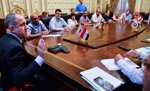 المهندس محمد زكى السويدى رئيس ائتلاف دعم مصر زعيم الأغلبية البرلمانية