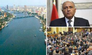 نهر النيل خط أحمر