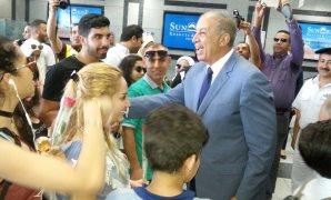 مطار الغردقة يستقبل أولى الرحلات القادمة من لبنان وعلى متنها 89 سائحا
