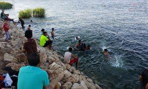 النيل مصيف الغلابة فى سوهاج