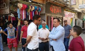 النائب أشرف عمارة: لا بديل عن إخلاء وسط الإسماعيلية وشوارعها من الباعة الجائلين والقضاء على العشوائيات