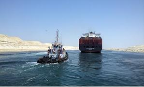 """إقتصادية """"قناة السويس"""" : 30 سفينة إجمالى الحركة بموانئ بورسعيد"""