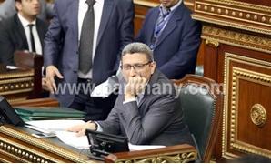 """أمين البرلمان يستقبل """"قنصل باكستان"""" ويتسلم خطابا لتهنئة """"عبد العال"""" بحلول عيد الفطر"""