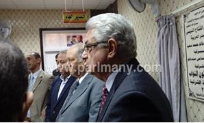 أعضاء البرلمان بالشرقية والمحافظ يفتتحون مكتب شئون النواب بالمحافظة لاستقبال الشكاوى