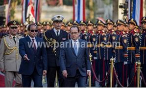 أهم القرارات السياسية.. توقيع 9 اتفاقيات بين القاهرة وباريس بحضور السيسى وهولاند