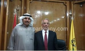 النائب جازى سعد يلتقى محافظ شمال سيناء لتوزيع سيارات المياه على المناطق المحرومة