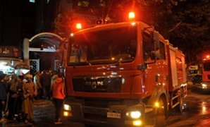 3 سيارات إطفاء لإخماد حريق داخل حديقة الحيوان