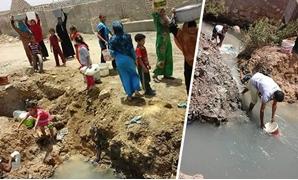 اخبار الفيوم بالصور .. أهالى إطسا يستغيثون بأعضاء البرلمان لتوفير مياه الشرب بالمركز
