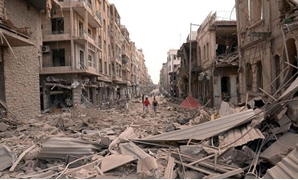 الحرب فى سوريا