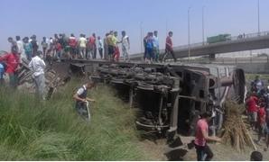"""تطورات حادث """"قطار العياط"""".. مصدر: العقوبة 10 سنوات إذا ثبت تعاطى المتهمين وقت الحادث"""