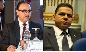 إيهاب غطاطى وياسر القاضى وزير الاتصالات