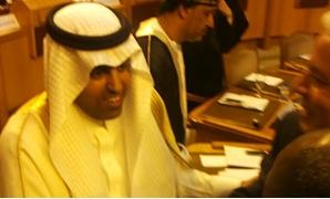 مشعل بن فهم السلمى رئيس البرلمان العربى