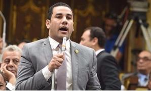 النائب أحمد على، عضو لجنة العلاقات الخارجية بمجلس النواب