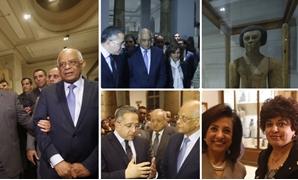"""البرلمان من المتحف المصرى:""""مصر آمنة"""""""