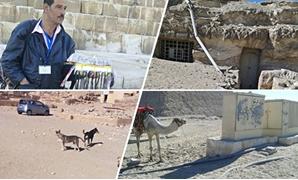 40 صورة تكشف عشوائية منطقة الأهرامات