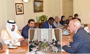 """كواليس لقاء رئيس البرلمان العربى بـ""""أبو الغيط"""""""