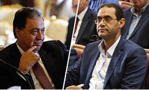 النائب خالد هلالى ووزير الصحة أحمد عماد