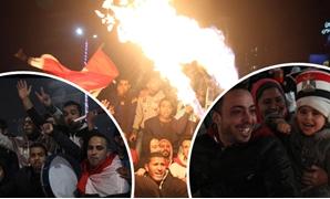 مصر تحتفل بالتأهل لنهائى أفريقيا