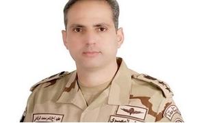 العقيد تامر الرفاعى المتحدث العسكرى للقوات المسلحة