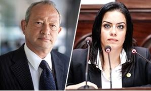 """سيلفيا نبيل نائبة """"المصريين الأحرار"""": البعض زج بإسمى """"كذبا"""" فى بيان تأييد لـ""""ساويرس"""""""