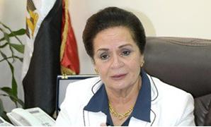 نادية عبده محافظ البحيرة