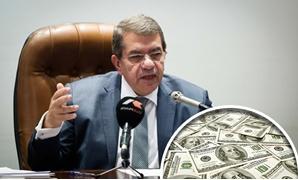 عمرو الجارحى وزير المالية ودولار