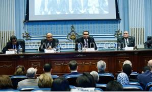 محمد العرابى فى اجتماع لجنة العلاقات الخارجية