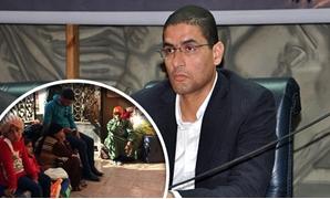 محمد أبو حامد وكيل لجنة التضامن