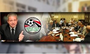 كرة مصر فى مهب الريح بعد حل الجبلاية