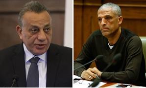 محمد الحسينى عضو مجلس النواب واللواء كمال الدالى محافظ الجيزة
