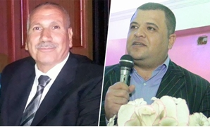 محمود المغربى رئيس مدينة الفشن وهانى الجويل رئيس مجلس قروى الفنت