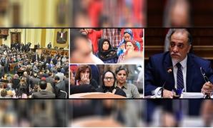 """شهداء العمليات الإرهابية """"أحياء"""" فى البرلمان"""
